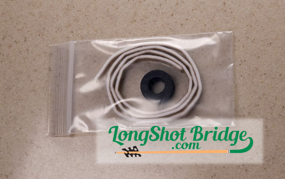 Long Shot Bridge Replacment Felt & Grommet